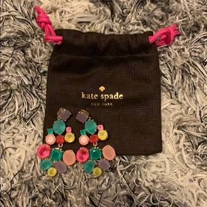 Kate Spade Drop Statement Earrings